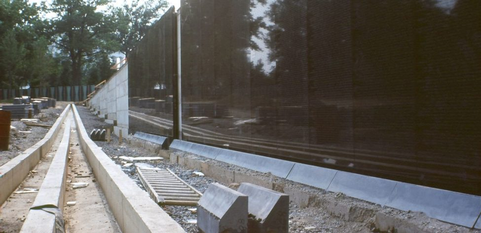 construction of wall 2